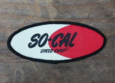 Sell SO CAL SPEED SHOP SMALL LOGO PATCH FLATHEAD 1932 FORD RAT HOT ROD JACKET HAT motorcycle in Sacramento, California, United States, for US $9.99