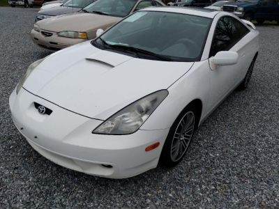 2000 Toyota Celica GT (White)