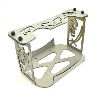 """Purchase """"REAPER"""" GROUP 34/78 OPTIMA BATTERY CHASSIS BOX / MOUNT /TRAY -CNC CUT- OFF ROAD motorcycle in Livermore, California, US, for US $49.99"""
