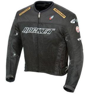 Purchase Joe Rocket Black Mens UFO Riding Jacket 2.0 XXXXL 4XL motorcycle in Ashton, Illinois, US, for US $197.99