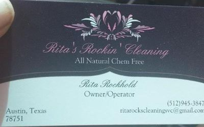 Ritas Rockin Cleaning Services...Chem Free...