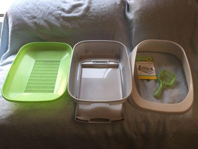 Tidy Cat Breeze litter box system