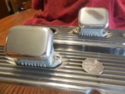 Vintage Stelling vlave cover breathers super nice Free valve covers