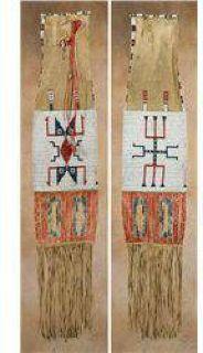 $1,000 Lakota Beaded and Quilled Pipebag