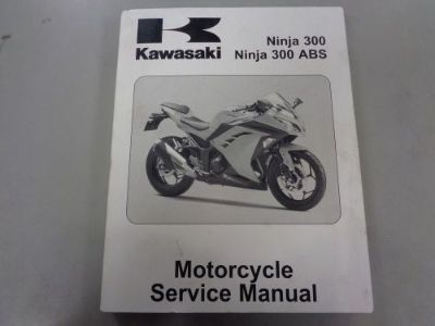 Find Kawasaki Service Manual 2013 Ninja 300 &abs Motorcycle Repair Book 99924-1460-31 motorcycle in Columbia, Connecticut, United States, for US $60.00