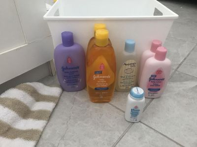 Baby wash & lotion