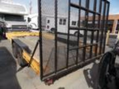 Used 1999 SUPERIOR FLAT BED TRAILER For Sale