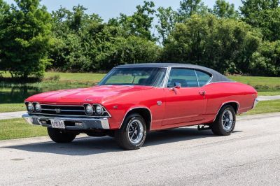 1969 Chevrolet CHEVELLE SS Super Sport (Red)