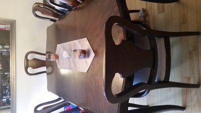 Table avec 2 extensions