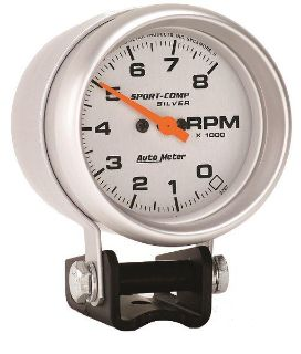 """Sell Auto Meter 3707 Ultra Lite 2 5/8"""" Pedestal Mount Tachometer 8,000 RPM motorcycle in Greenville, Wisconsin, US, for US $144.90"""
