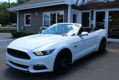 2017 Ford Mustang GT Premium Convertible (Oxford White)