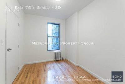 Upper East Side - 3 Bedroom With Flawless Renovations;  Affordable Rental Price