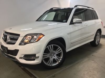 2014 Mercedes-Benz GLK-Class GLK350 4MATIC (Diamond White Metallic)