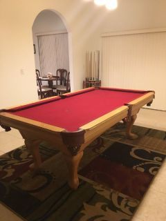 3.5' x 7' Custom Pool Table FREE DELIVERY and SET-UP INCLUDED!!!