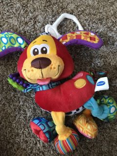 Large puppy rattle