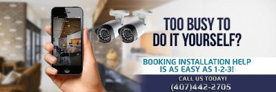 Wireless security camera system in Orlando