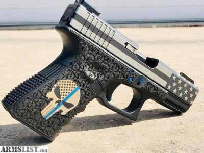 For Sale: Custom Laser Stippling