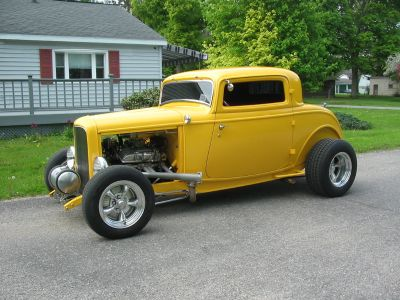 32 Ford 3W coupe Hot Rod