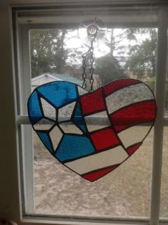 Beautiful hand made stained glass