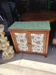 2 door cabinet with shelves shabby chic with transfers