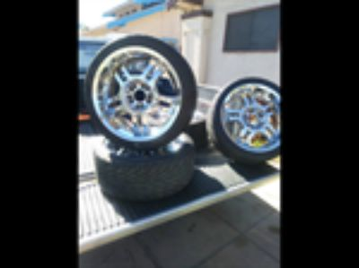 Parts For Sale: tires and rims 18's