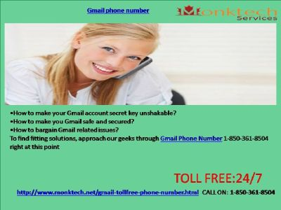 Does Gmail Phone Number range help 24 Hours a day 1-850-361-8504?
