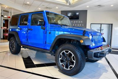 2015 Jeep Wrangler Unlimited Rubicon Hard Rock (Hydro Blue Pearl Coat)