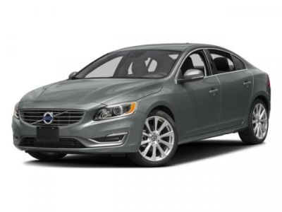 2016 Volvo S60 Inscription T5 Drive-E Premier (Silver)
