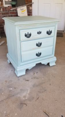 So cute small cabinet or side table