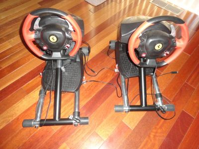Ferrari 458 Spider Racing Wheel, Pedals and Stand. X Box One.