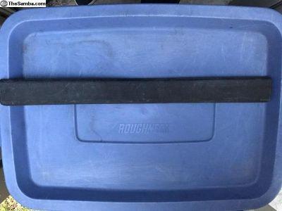 Vanagon front bumper pad
