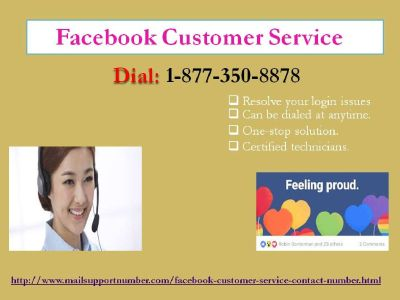 3-Ways To Connect With Facebook Customer Service 1-877-350-8878