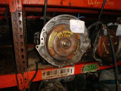 Sell TRANSMISSION ASSY. DODGE DURANGO 2001 motorcycle in Harmony, Pennsylvania, US, for US $550.00