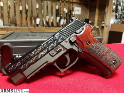 For Sale: Sig Sauer P226 Engraved 9mm