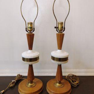 Midcentury Lamp Set