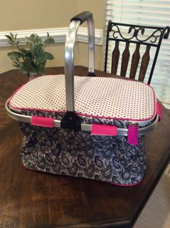 Pampered Chef collapsible thermal tote *never been used*