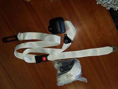 Buy 3 Pt Universal Seat Belts, Pair, White motorcycle in Munford, Alabama, United States, for US $129.00