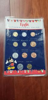 New sealed Epcot international coins