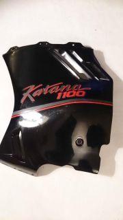 Purchase Suzuki Katana 1100 Left Side Fairing Plastic #94481-48B - Black motorcycle in Richlandtown, Pennsylvania, US, for US $123.99