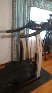 BOWFLEX  ULTIMATE HOME GYM AND BOWFLEX TREADCLIMBER
