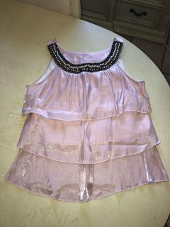 Pink beaded XL - Worn once