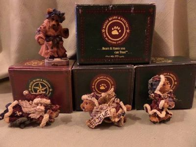 Boyds Bear and Hares Figurines and Ornaments