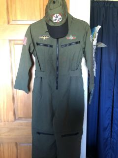Top Gun costume size 7/8, like new, smoke free, pick up Darboy and crossposted