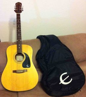 EpiphoneGibson Dreadnaught Acoustic Guitar with Case
