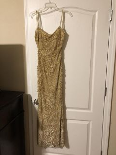 Sequined formal gown, perfect forMardi Gras, size 10/12 Meet Walmart in Fairhope. Cross posted
