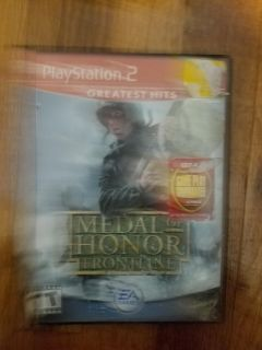 Medal of honor ps2 game