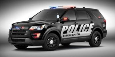 2016 Ford Explorer Police Interceptor (Black)