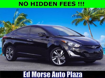 2015 Hyundai Elantra GLS (Black Diamond)