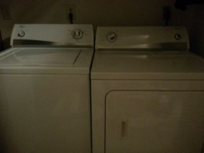 EXCELLENT CONDITION AMANA WASHER AND DRYER