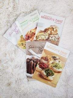 Pampered Chef Season's Best Cookbooks